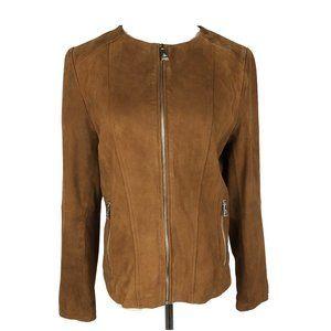 NWOT Ralph Lauren Suede Jacket Size S